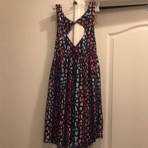 Keyhole back Roxy sun dress